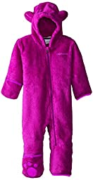 Columbia Baby Foxy Baby II Bunting, Bright Plum, 0-3 Months