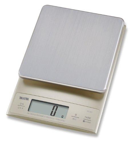 Tanita - KD-321 - Balance de Cuisine Électronique de Précision - Argent