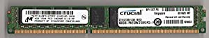 MICRON MT18JDF51272PZ-1G4D1AD PC3-10600R DDR3 1333 4GB ECC REG 1RX4 VLP (FOR SERVER ONLY)
