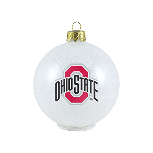 NCAA LED Color Changing Ornament NCAA Team: Ohio State Buckeyes