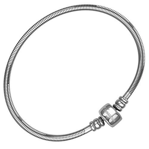 Timeline Treasures Charm Bracelet Stainless Steel