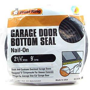 king garage doorCoupon For Frost King G9 NailOn Rubber Garage Door Bottom Seal 2