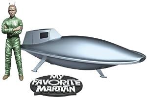 Pegasus Hobbies My Favorite Martian: Spaceship And Uncle Martin Model Kit from Pegasus Hobbies
