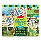 Toy Game Melissa & Doug Habitats Reusable Sticker Pad (For ages 3+ years) - 14 x 11 x 1 inches ; 13.6 ounces Kid Child Play