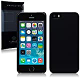 Terrapin Slim Armour Cover for iPhone 5S - Blackby TERRAPIN