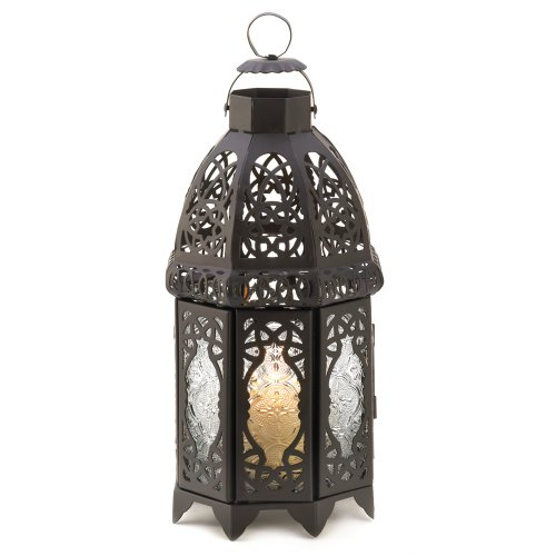 Gifts & Decor Lattice Lantern Candle Holder Home