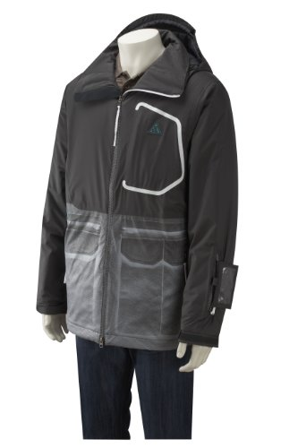 Nike Mens Hudson Jacket Grey 36-38
