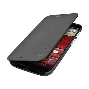 Seidio LEDGER Flip Case for Motorola Moto X - Retail Packaging - Dark Gray