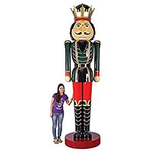 Design toscano super scaled holiday for 4 foot nutcracker decoration