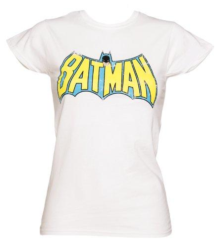 Batman Winged Logo DC Comics Ladies T Shirt