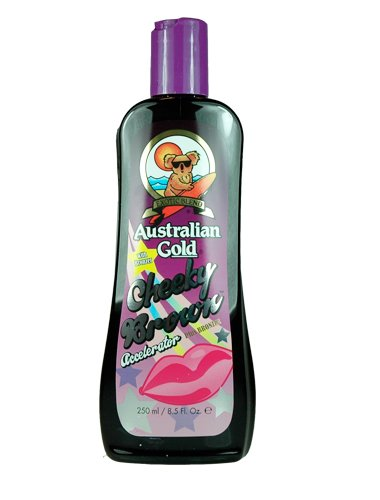 Australian Gold Cheeky Brown Tanning Lotion Australian Gold Dark Tanning Accelerator Plus Bronze 8.5 oz