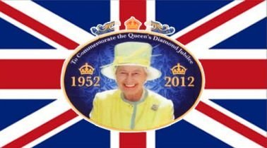 Queen Elizabeth II Diamond Jubilee Giant Flag