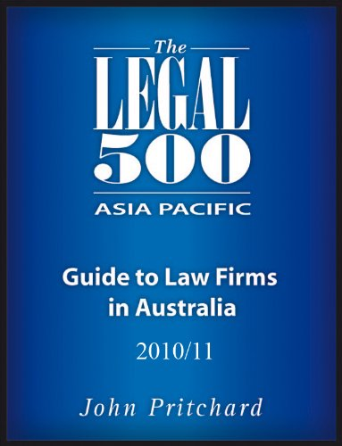 Australia - Guide to Law Firms 2010-11
