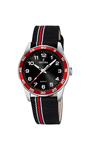 Reloj cuarzo Festina Para Unisex Con  Negro Analogico Y Multicolor varios materiales F16906/3