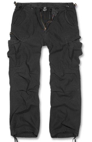 Brandit M65 Vintage Trousers Pantaloni tempo libero nero XL