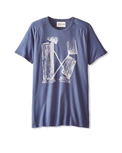Vestige Men's Pillars Short Sleeve T-Shirt