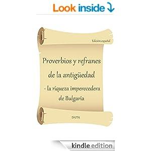 Amazon.com: Proverbios y refranes de la antiguedad - la riqueza