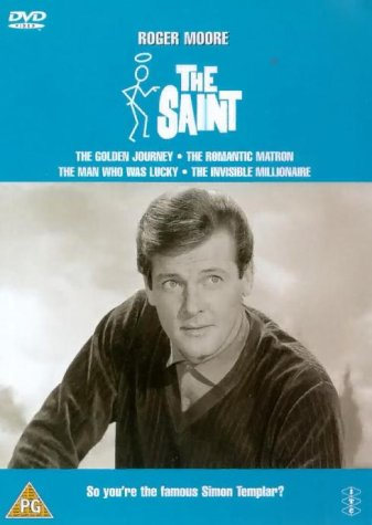 The Saint: The Golden Journey/The Romantic Matron/Man Who... [DVD]