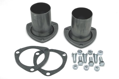 """Hedman 21100 3"""" Collector to 2-1/4"""" Exhaust Header Reducers (adapters) - Pair"""