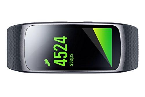 Samsung Gear Fit II - Smartwatch mit Herzfrequenzmessung und Notifications Dark Gray (L) 3
