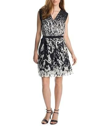 Esprit - Robe - Sans manche - Femme - Noir - FR: 44 (Taille fabricant: 42)