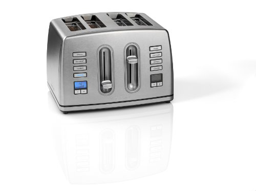 Cuisinart CPT445U 4-Slice Brushed Stainless Steel Digital Toaster from Cuisinart