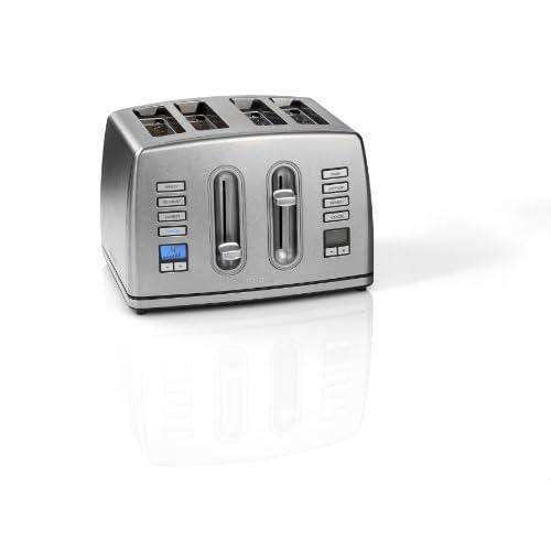 Cuisinart CPT445U 4-Slice Brushed Stainless Steel Digital Toaster