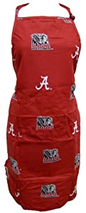 "Alabama Apron 26""X35"" with 9"" pocket - Alabama Crimson Tide [Misc.] MPN: ALAAPR"