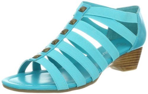 Turquoise Wedge Sandals
