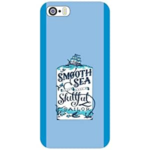 I Phone 5S Phone Cover - Smooth Sea Matte Finish Phone Cover