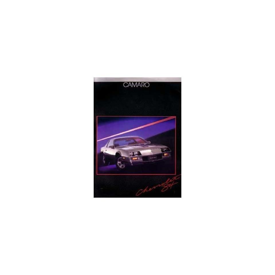 1984 CHEVROLET CAMARO Sales Brochure Literature Book