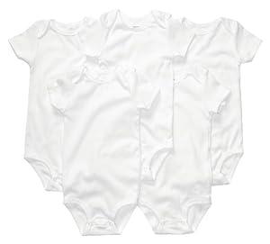 Carter's Unisex-Baby 5-Pack Short Sleeve Bodysuits
