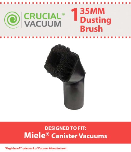 Crucial Vacuum  Miele Dusting Brush Tool, Fits Miele Canister Vacuums 35mm Fitting (Crucial Vacuum Miele compare prices)