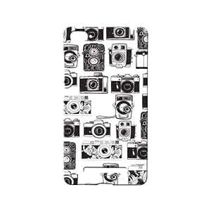 BLUEDIO Designer 3D Printed Back case cover for Xiaomi Mi4i / Xiaomi Mi 4i - G5026