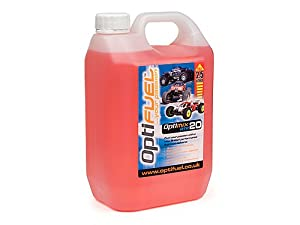 HPI Optifuel Nitro Car Race Fuel Optimix 2.5 Litre 20%
