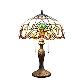 gweat 16 inch european baroque tiffany table lamp bedroom. Black Bedroom Furniture Sets. Home Design Ideas