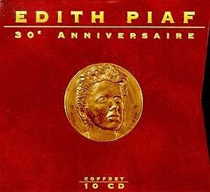 Edith Piaf 30th Anniversaire Coffret 10 Cd Import