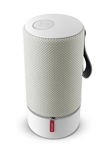 Libratone ZIPP Wireless SoundSpaces Lautsprecher (Multiroom, SoundSpaces, AirPlay, Bluetooth, DLNA, WiFi) Cloudy Grey