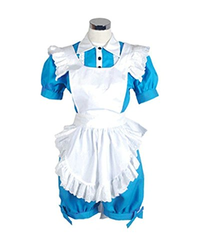 Vicwin-one Black Butler Ciel Phantomhive Maid Uniform Cosplay Costumed