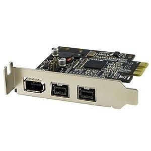 SYBA Low Profile PCI-E 2 x 1394b / 1 x 1394a Card [SD-PEX30009]