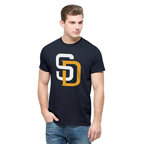 MLB San Diego Padres Men's '47 All Pro Flanker Tee, X-Large, Fall Navy