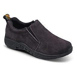 Merrell Jungle Moc Sport Slip On Shoe (Little Kid/Big Kid), Brown/Black, 5.5 M US Big Kid