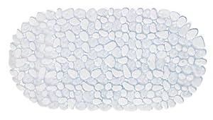 Wohnideenshop Badewanneneinlage 35cm x 67cm STONE Steinoptik in transparent und andere Farben zum auswählen