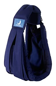 Babasling DB 002 - Pañuelo porta bebés (0 - 24 meses), color azul de Babasling