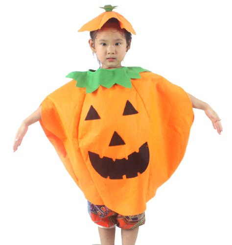 Children's Halloween Costume, Jackolantern Pumpkin