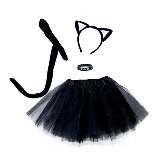 Spooky-Black-Kitty-Cat-Complete-Costume-Set