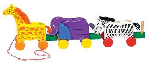 41MBRMABGHL Cheap Buy  Melissa & Doug Pull Along Zoo Animals