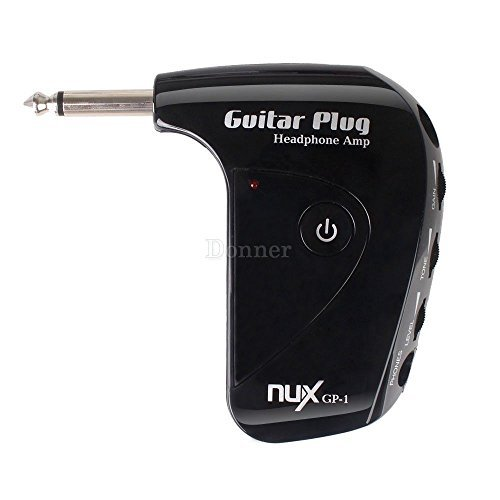 New Guitar & Bass Headphone Amplifier Includes Headphones & Cable