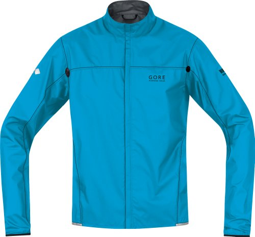 Gore X-Running Running Wear Men's Jacket Light Active Shell - Blue, XL