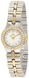 Invicta Womens 0133 Wildflower Collection 18k Gold-Plated